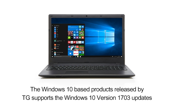 "For the details of Windows 10 version 1703 updates, please check the ""Microsoft page(https://support.microsoft.com/windows)"""